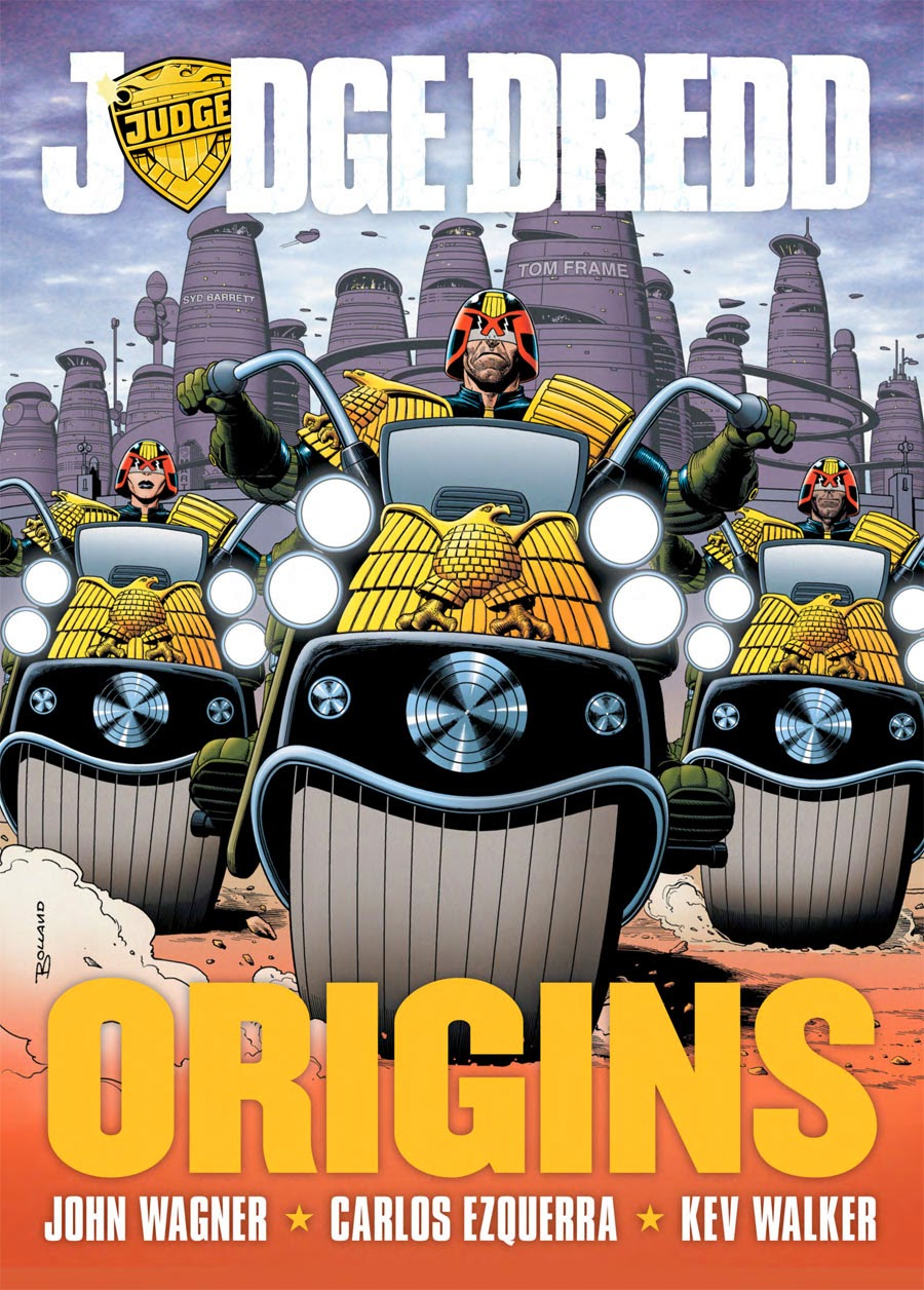 "Portada ""Origins"" Juez Dredd"
