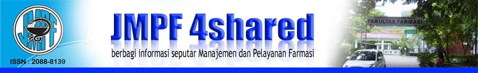 Jurnal Manajemen dan Pelayanan Farmasi (JMPF)