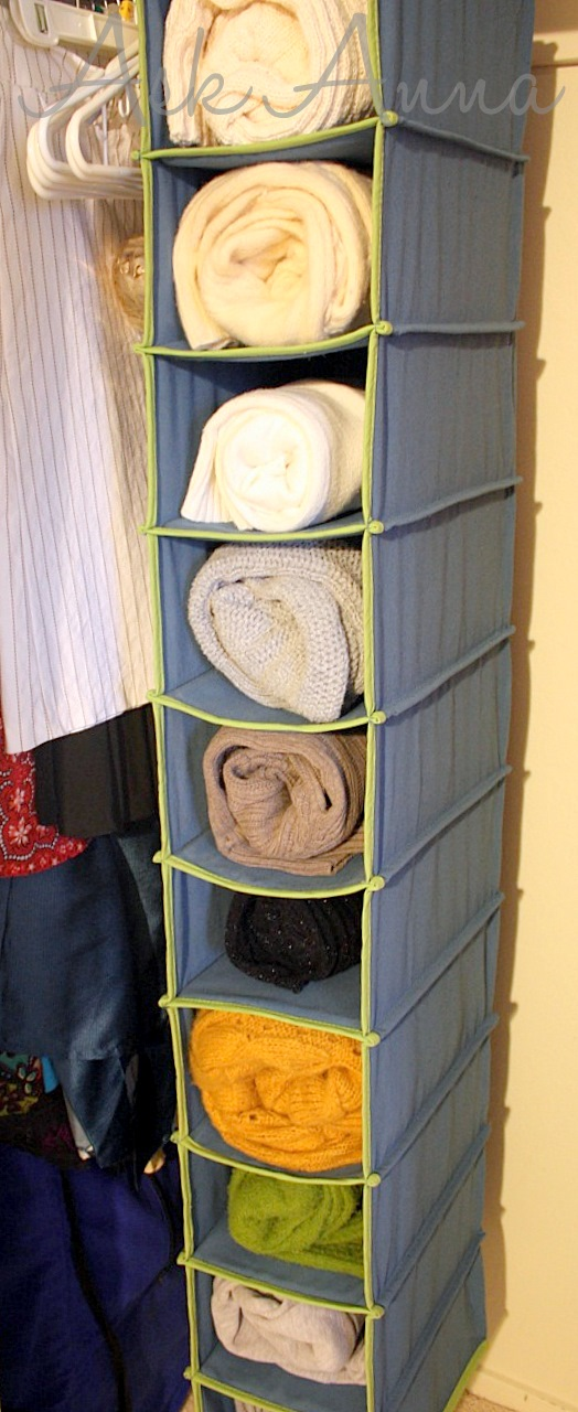 Closet Organizers For Rvs : Tips for organizing sweaters
