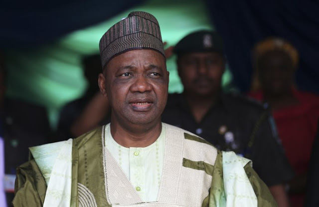 Nigerian authorities raid former VP Namadi Sambo's office over alleged arms fraud