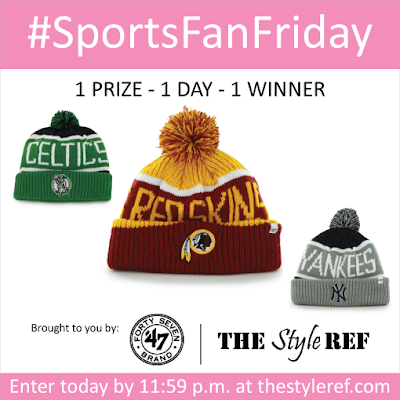 Sports Fan Friday Giveaway for a '47 Brand knit hat