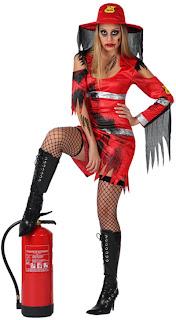 Disfraces de Halloween para Mujer, Bomberas