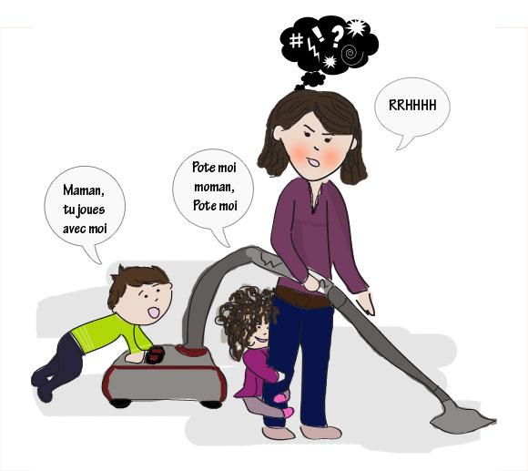 bd-maman-ménage-organisation-enfants