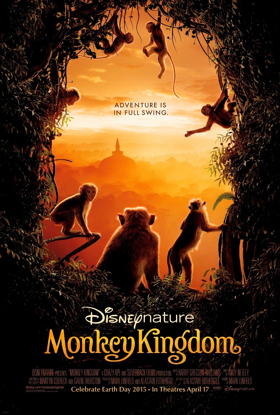 Download Film Monkey Kingdom (2015) Subtitle Indonesia September 2014