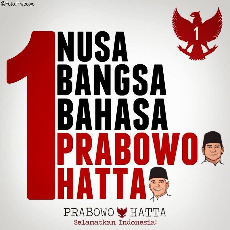 Dukung & Menangkan Prabowo-Hatta Jadi Presiden Indonesia
