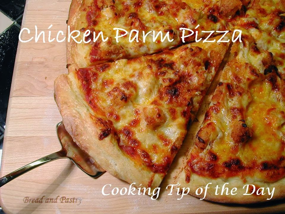 Cooking Tip of the Day: Chicken Parm Pizza