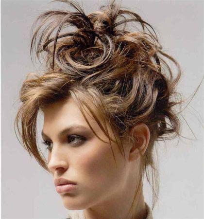 Peinados para fiesta semi recogido con rizos de moda YouTube - Peinados Actuales De Fiesta