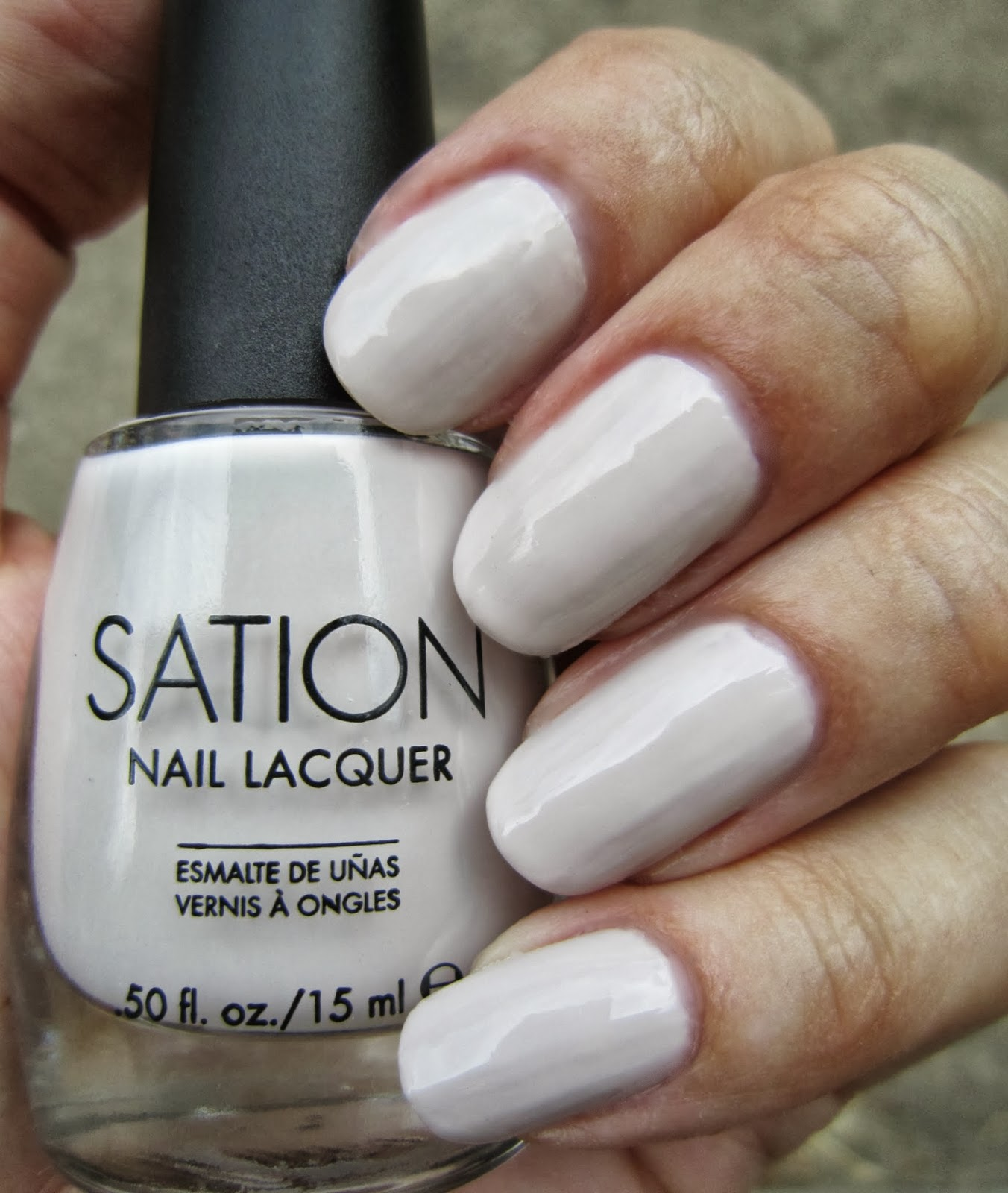 Sation Nail Polish: Concrete And Nail Polish: Sation Hottie Biscottie