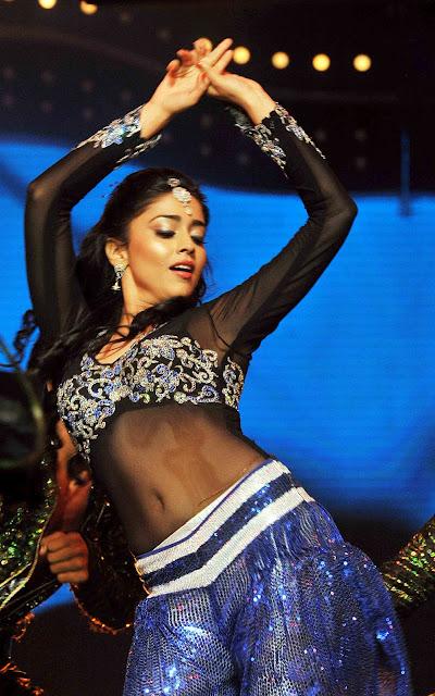 Actress Sherya Navel Show Photos