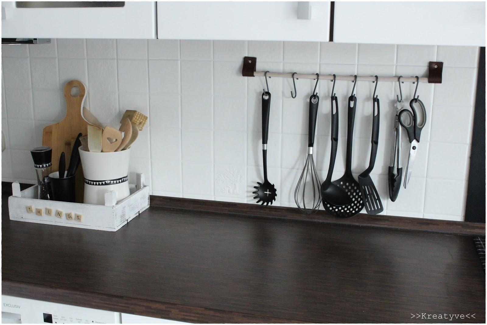 kreatyve unsere neue k che. Black Bedroom Furniture Sets. Home Design Ideas