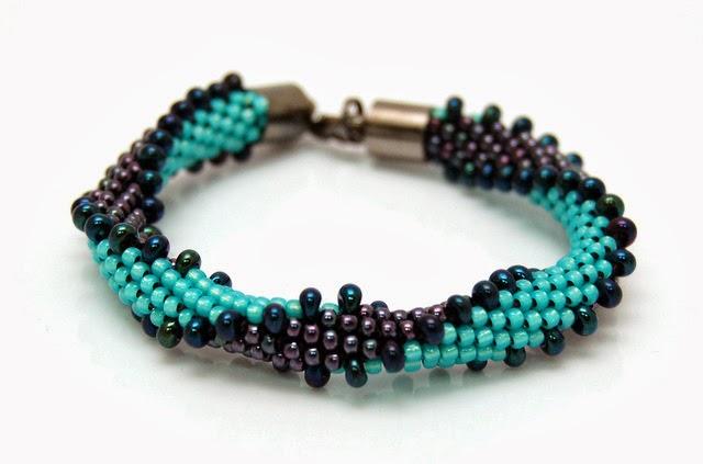 bransoletka koralikowa bead crochet bracelet inati zare 6