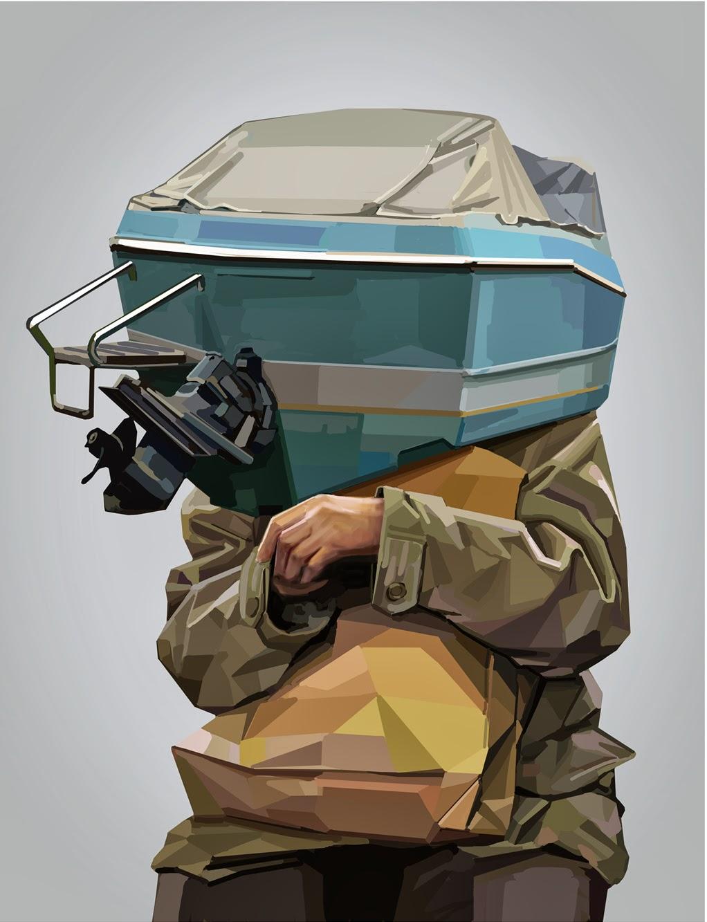 ©Tapio Mömmö - Metamorfosis Modernas. Ilustración | Illustration