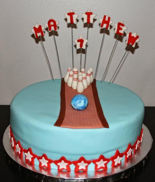 Jacquelines Sweet Shop Bowling Birthday Cake