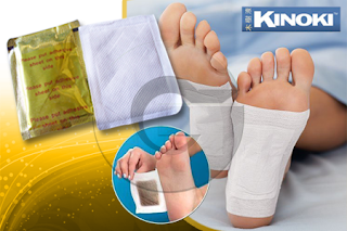 KOYO DETOX FOOT PATCH KIYOME KINOKI GOLD