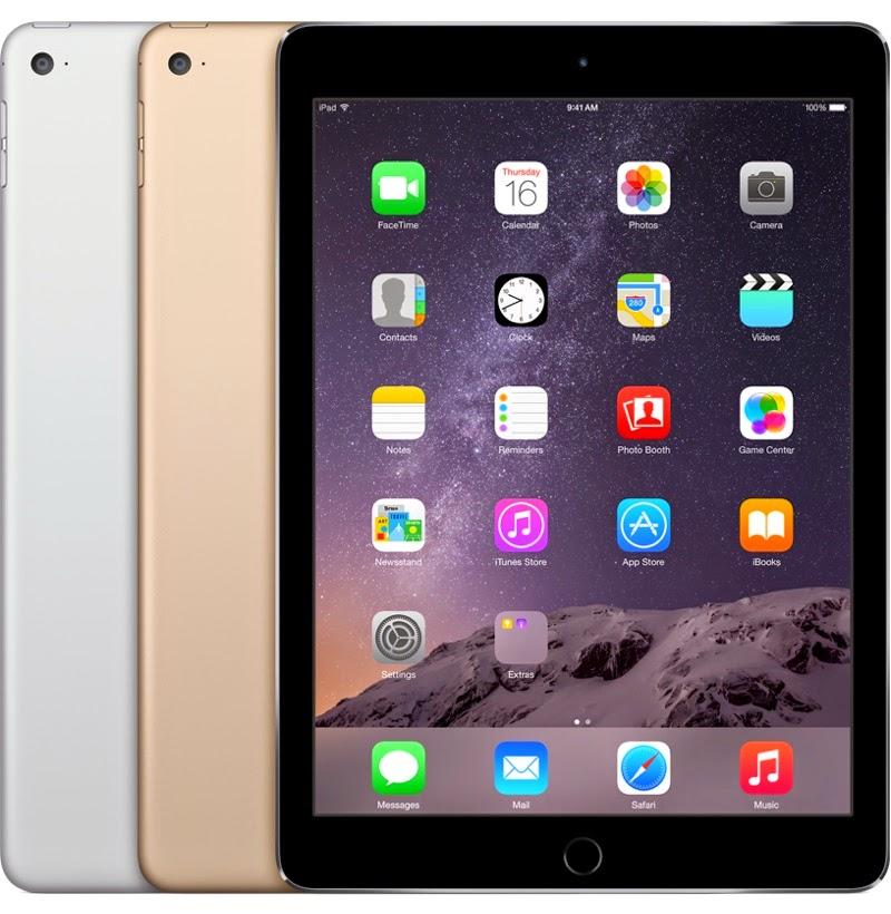 Harga dan Spesifikasi iPad Air 2 Terbaru Di Indonesia