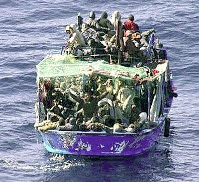 Malta: boatload of refugees #2