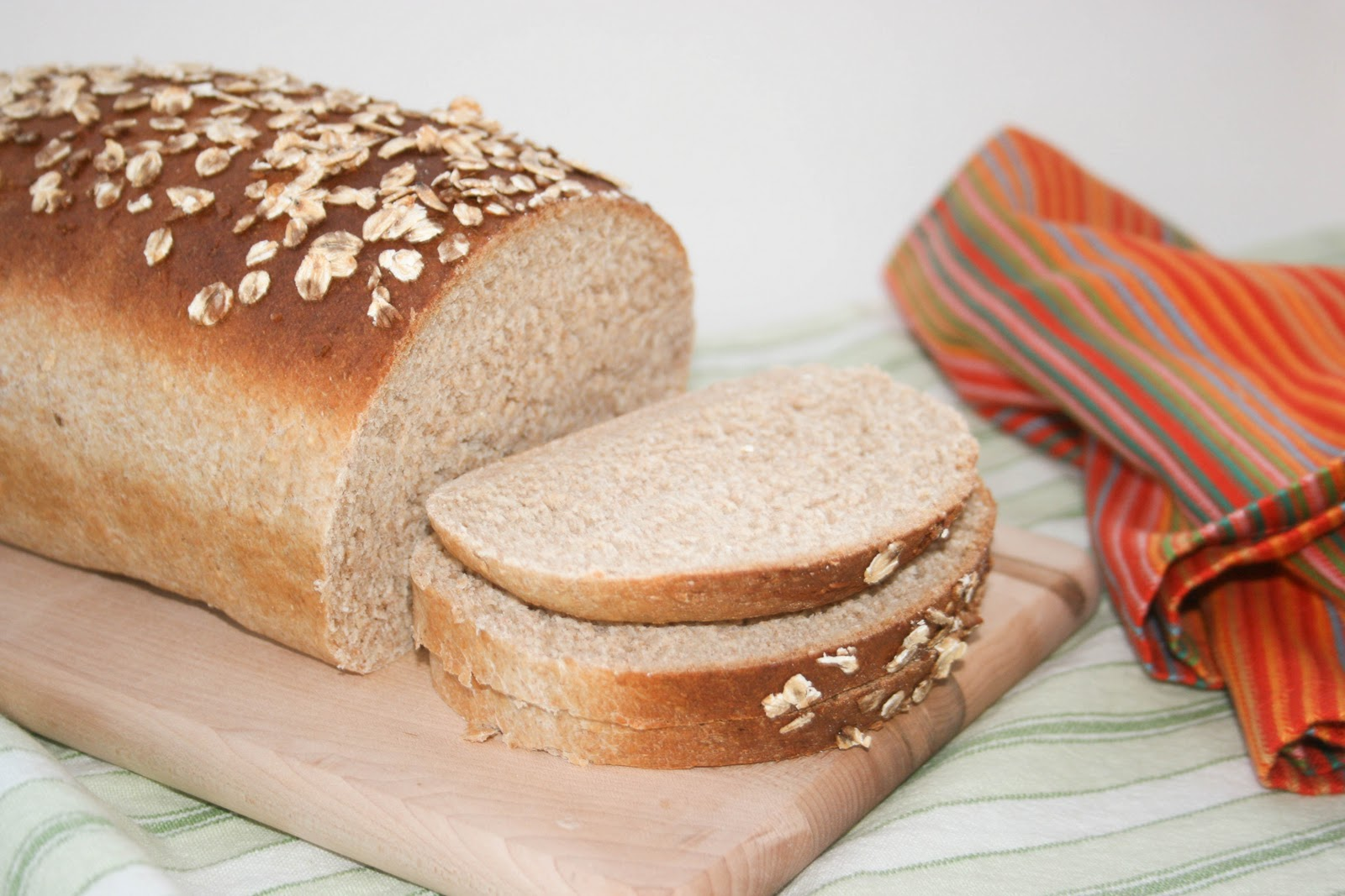 Honey Oat Wheat Bread | Krissy's Creations