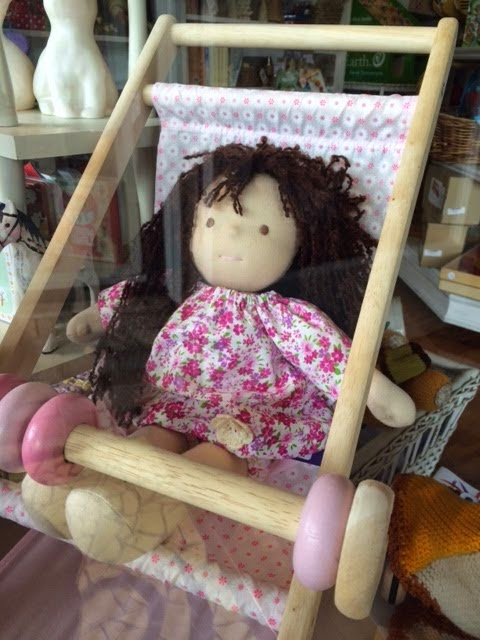 How much is the dolly in the window?