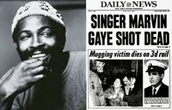 Marvin Gaye Shot by his Father