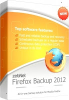 Free Download zebNet Firefox Backup 2012 with Serial Key Full Version
