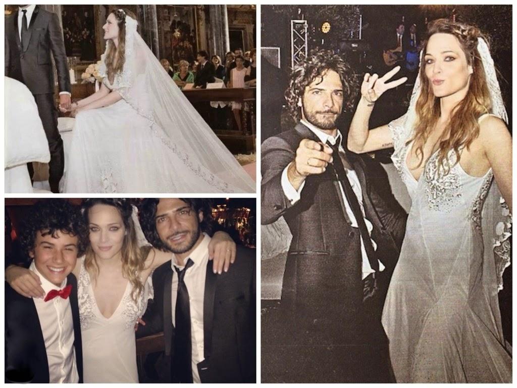 abiti da sposa vip, abito sposa laura chiatti, prada abiti sposa