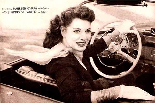Maureen O'Hara car