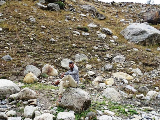 Manjeet Chhillar at Chatru, Himachal Pradesh