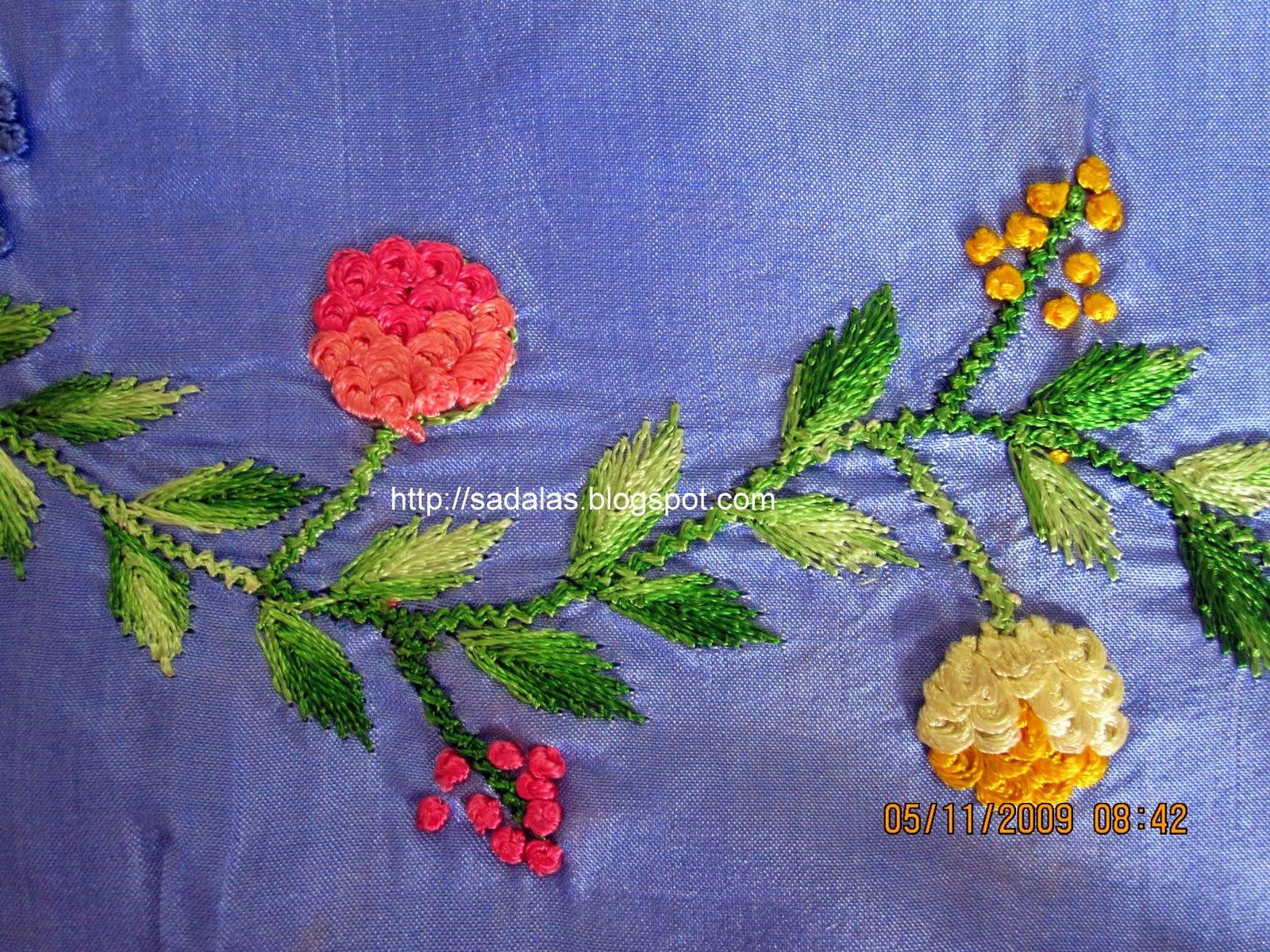 Sadala S Embroidery Challah Work