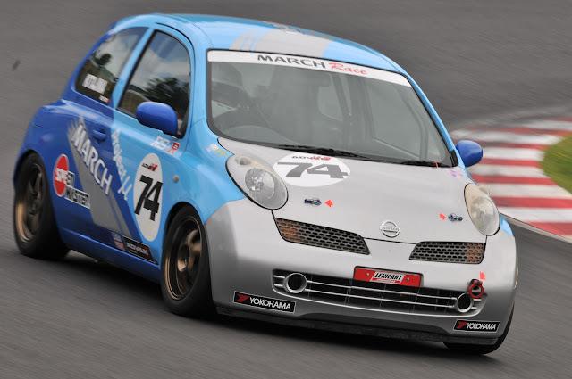 Nissan March, sport, samochody używane w wyścigach