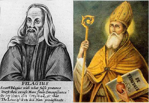 Resultado de imagem para pelagio x agostinho
