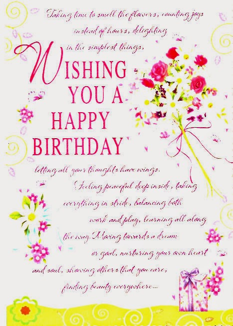 Happy Birthday Card Sayings gangcraftnet – Religious Birthday Card Messages