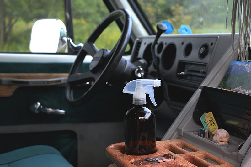 DIY road trip air freshener