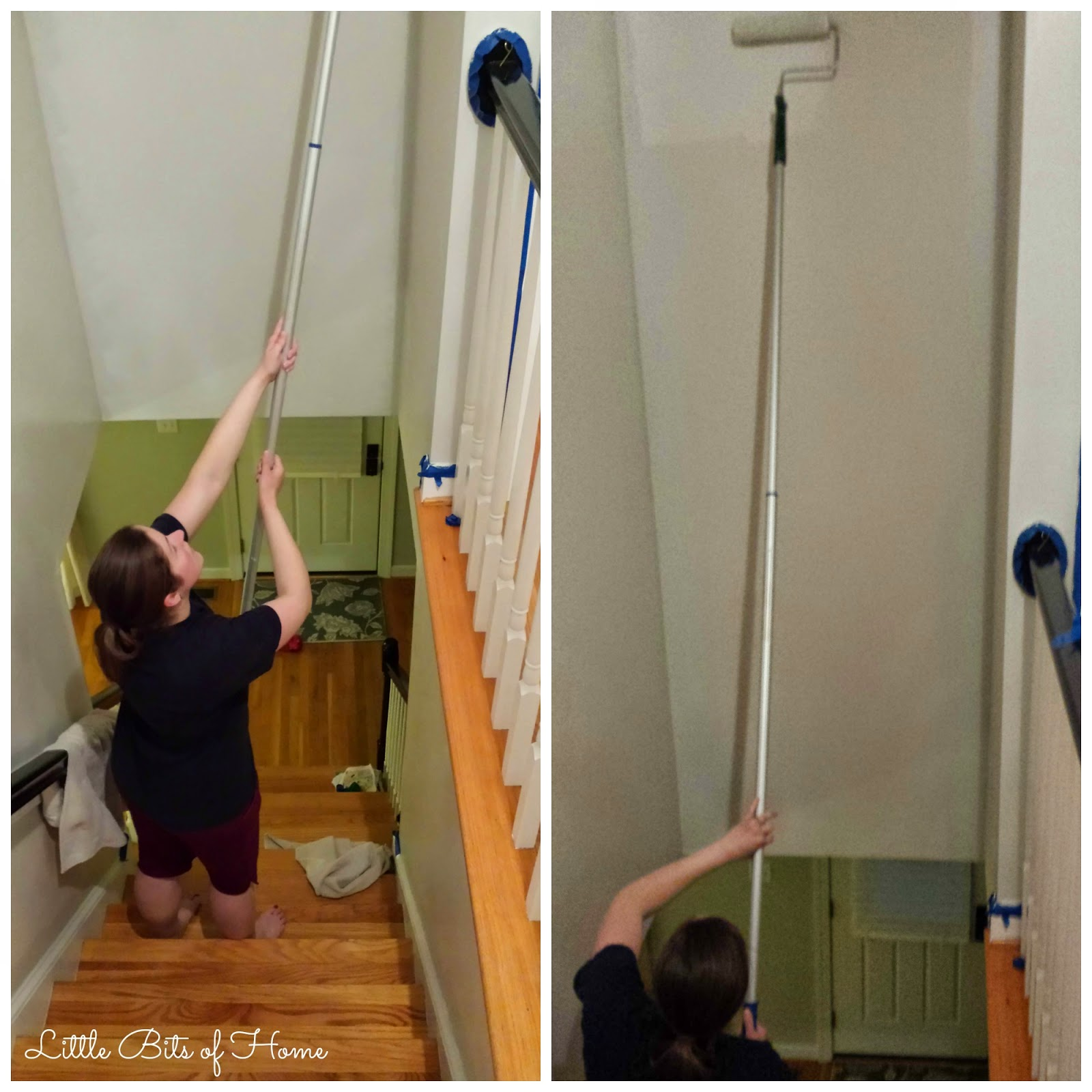 How To Paint A Hallway how to paint a stairwell without hiring help