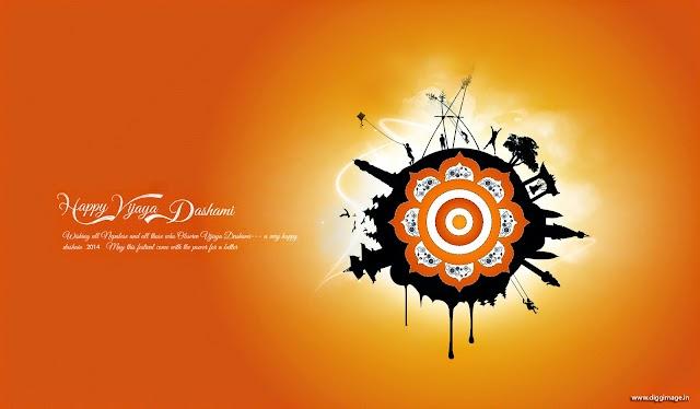 On this auspicious occasion, I wish the color, bliss and beauty Happy Vijaya Dashami