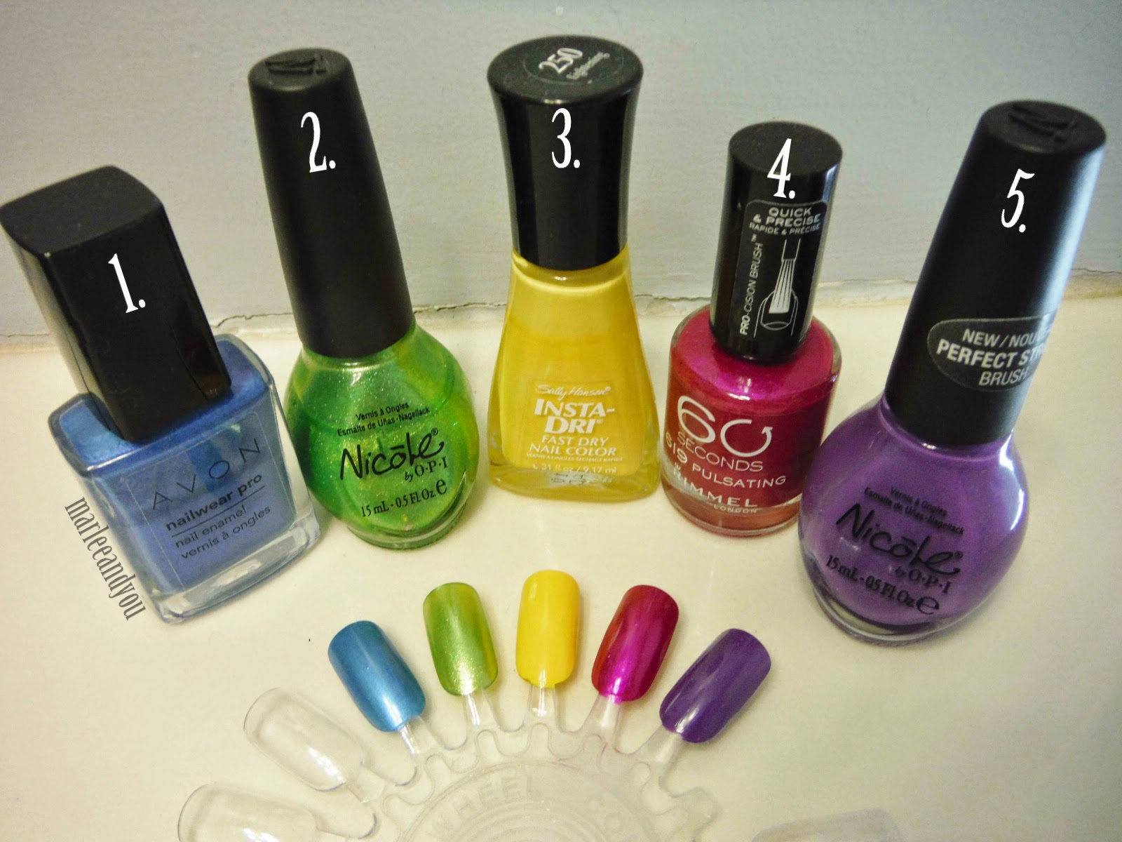 summer nail polish | marlee and you