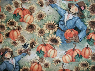 pumpkin fabric
