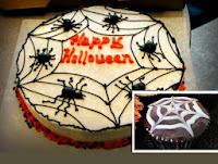decoracion de arañas