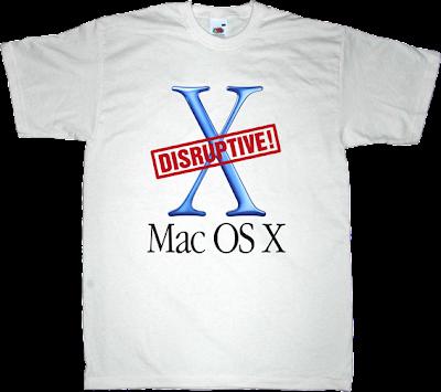 DTTCTWWK, disruptive, apple, mac OSX, mac anniversary t-shirt ephemeral-t-shirts