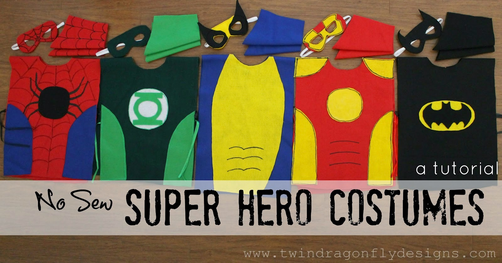 Simple Superhero Costumes