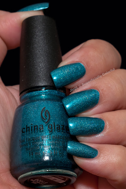 China Glaze Techno Teal