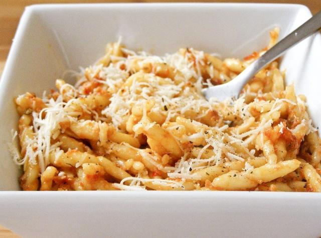 Vegan Sun-Dried Tomato Pesto Pasta