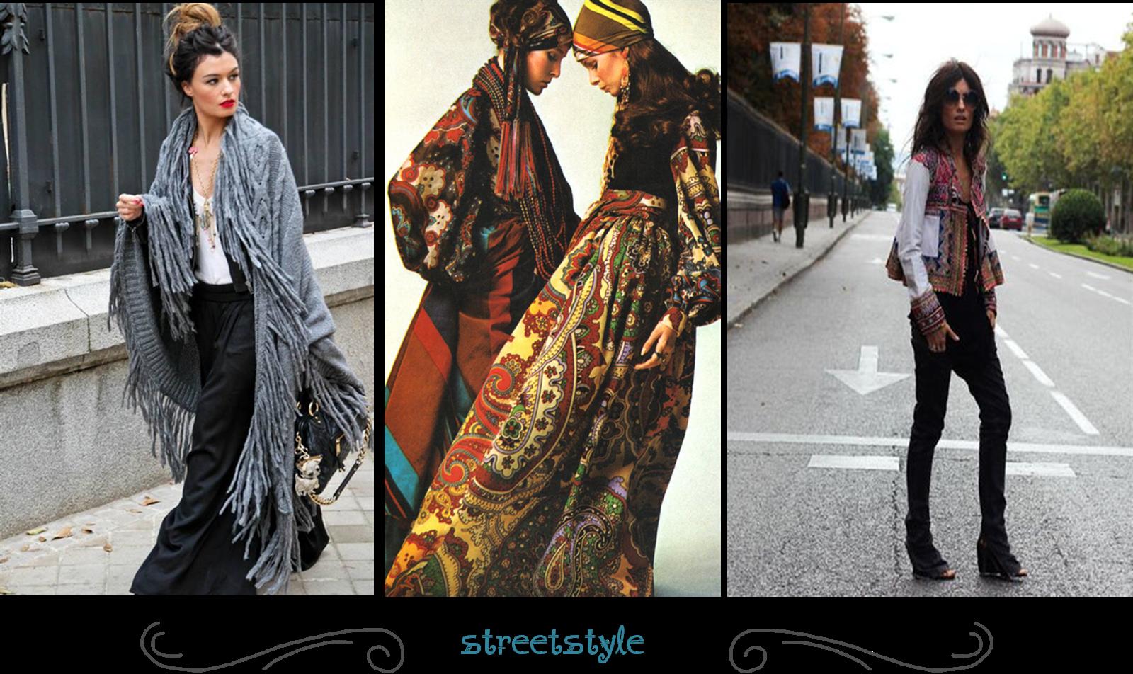look street style boho