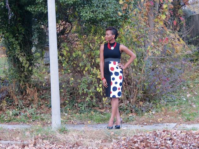 DIY Illusion Pencil Skirt, DIY Maternity, Maternity Style