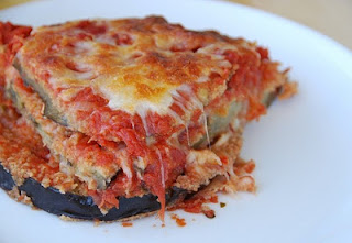 Eggplant Parm is a great Vegetarian Christmas Food Idea