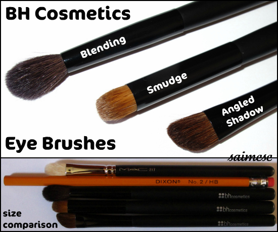 Saimese Cosmetics Eye Brushes