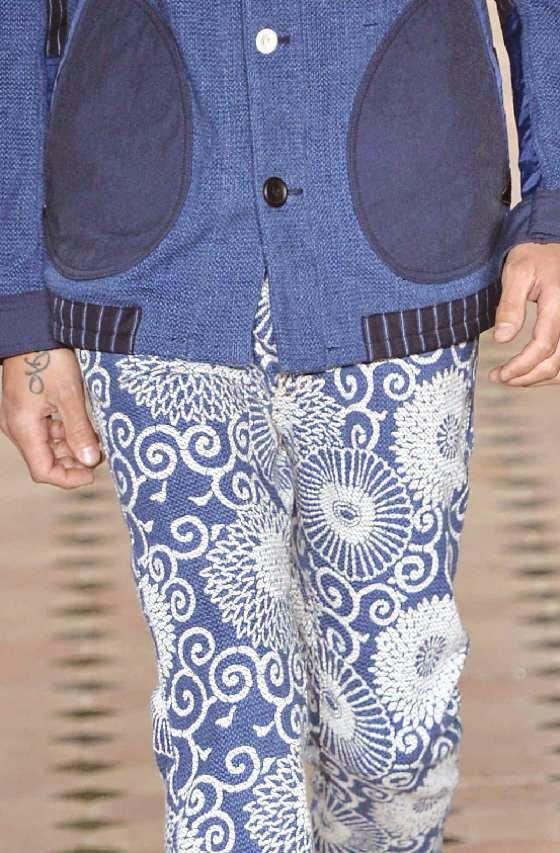 Patterns e dettagli dalla recente settimana della moda di parigi
