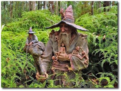 Las esculturas mágicas de Bruno Torfs - Marysville Australia - Jardín de esculturas