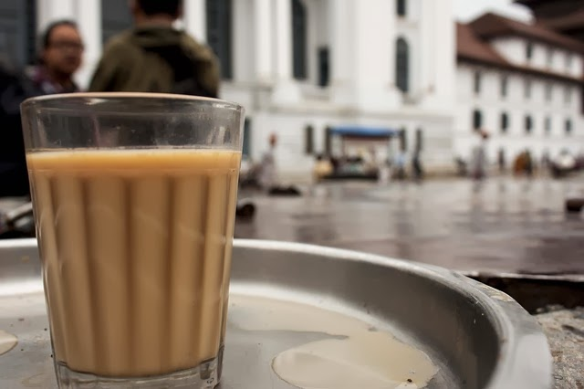 Indian Tea from Street Tea Stall