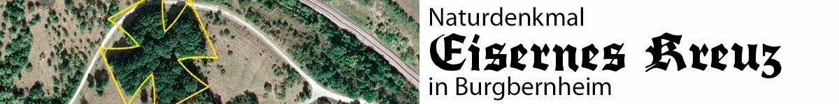Naturdenkmal Eisernes Kreuz