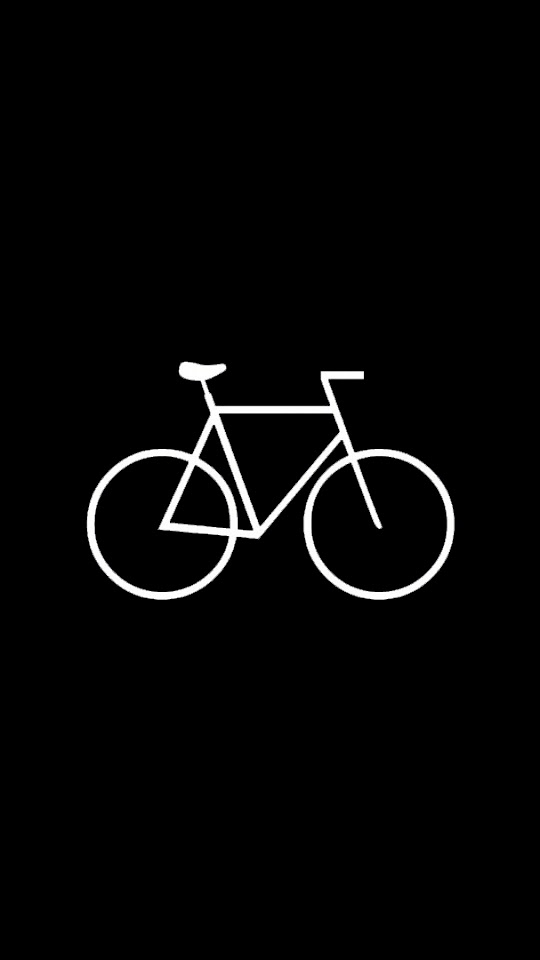 Flat Simple Bicycle Hipster  Galaxy Note HD Wallpaper
